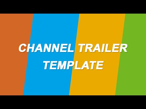 Channel Trailer Template After Effects CS6 [Free Download] + Edit Tutorial