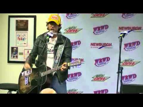 "Chris Janson performing ""Redneck Revival"" LIVE on the Mountain Dew Stage"