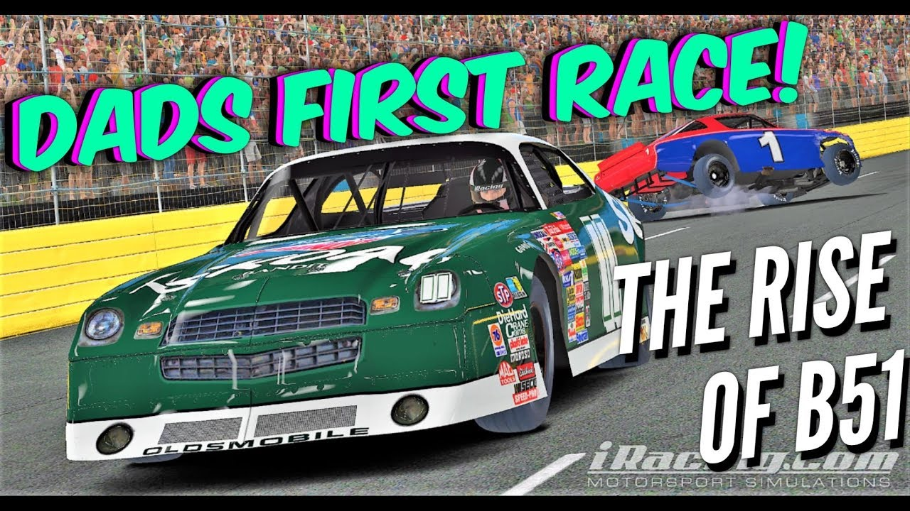 DAD'S FIRST RACE, B51 NATION IS BORN - Rookie Street Stock @ Charlotte-  iRacing