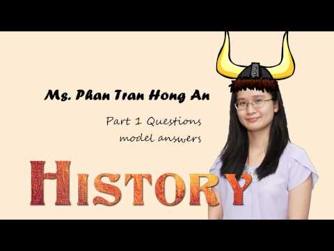 IELTS Speaking Part 1: HISTORY - Sample answers