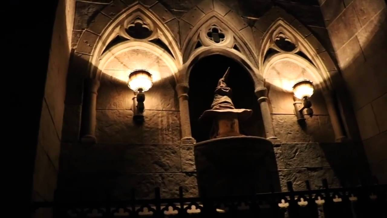 Universal studios harry potter forbidden journey