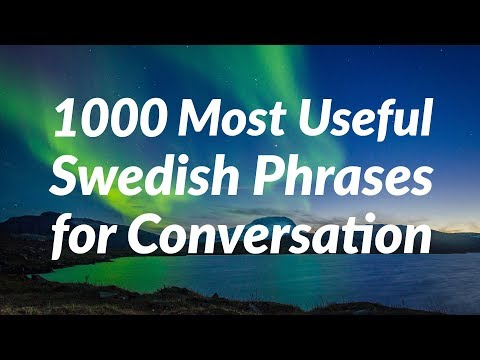 1000 Most Useful Swedish Phrases for Conversation