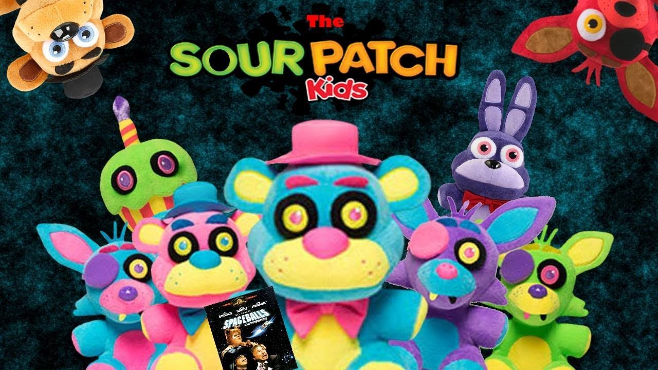 Fnaf Plush The Sour Patch Kids Youtube