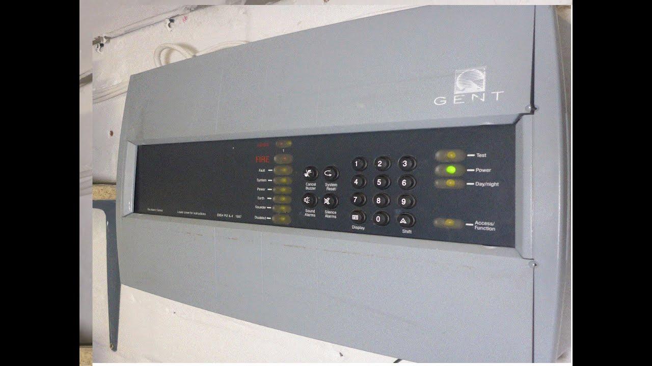 Fire Alarm System Test 61 Gent Xenex