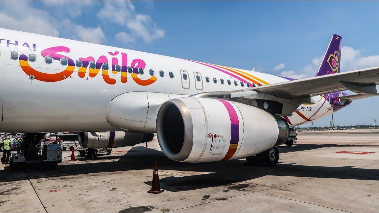 TRIP REPORT | Thai Smile Airways | Airbus A320 | Phuket - Bangkok (HKT-BKK)