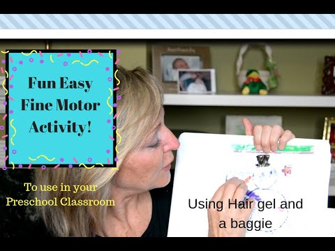 Fun Easy Fine Motor Activity