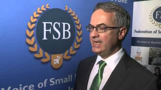 """Unemployment a real threat to the economy"" Environment Minister, Alex Attwood MLA tells FSB NI"