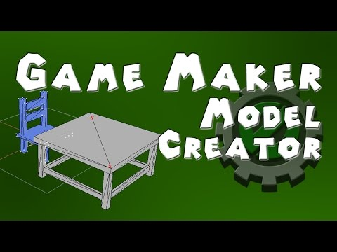 Game Maker 3D - Model Creator For Game Maker - Introduction