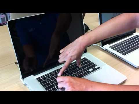 How to reset apple macbook pro laptop