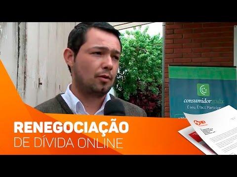 Renegociação de dívidas online - TV SOROCABA/SBT