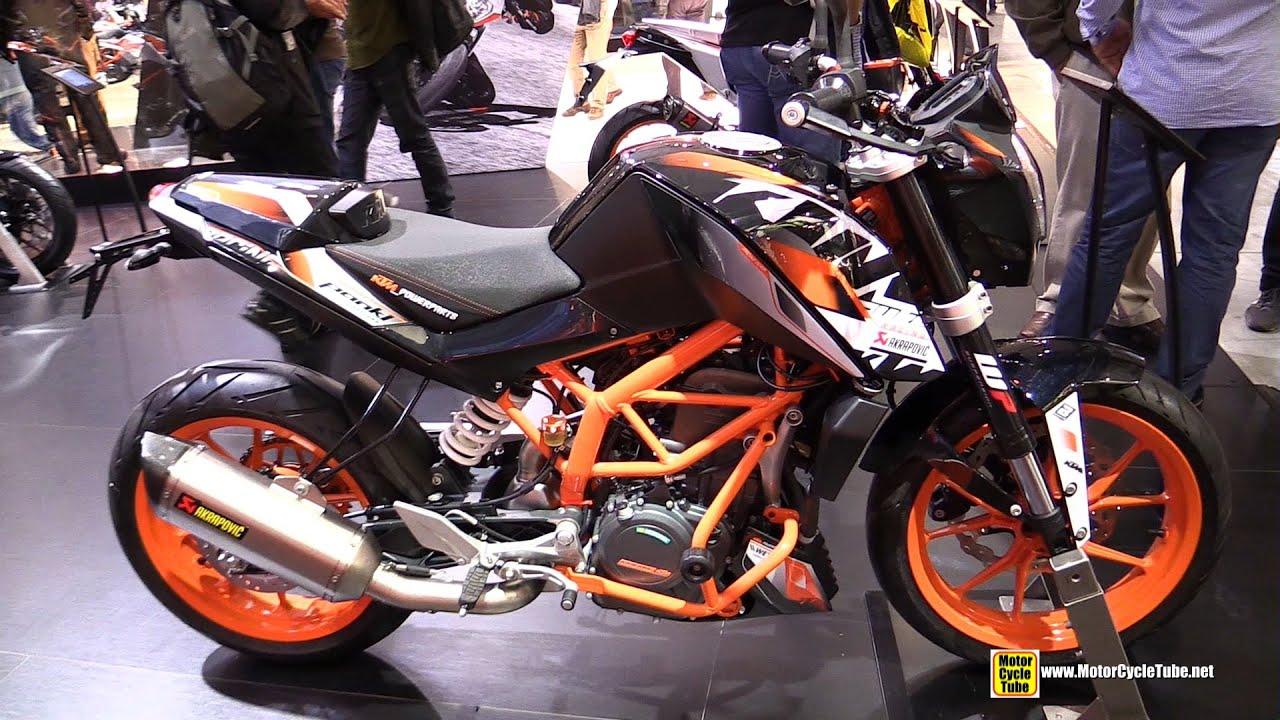 2015 ktm 390 duke - walkaround - 2014 eicma milano motocycle