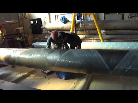 FRP PIPE WINDING (Sunrise Fibre Glass Industries)