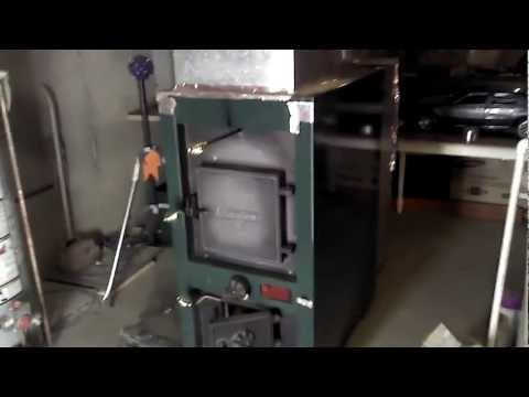 outdoor wood stove hook up