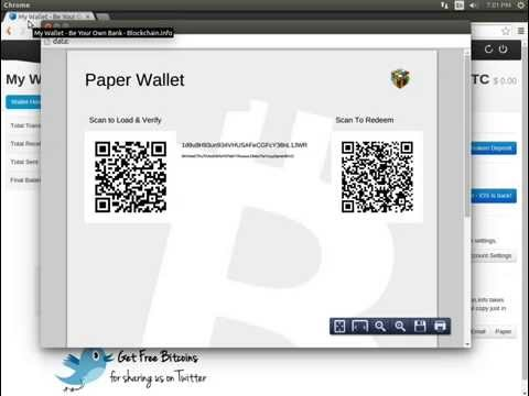 Blockchain.info Paper Backup Stores Private Keys in the Browser History