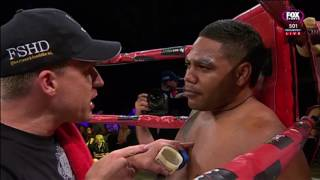 Chris Sandow vs Todd Carney - Charity Fight Night 2016