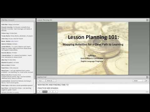 Lesson Planning 101 - Mapping Activities For A Clear Path To Learning