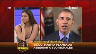 Estados Unidos habría planeado matar a Evo Morales