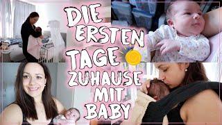 Die ersten Tage mit einem Neugeborenem & 2 Kindern 😰 • Mein Wochenbett 🤱🏻• Maria Castielle