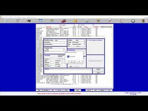 Winworks Tutorials- Adding Parts