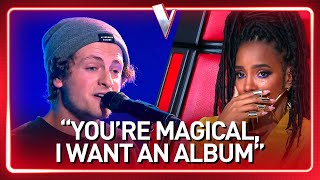STREET PERFORMER turns into a real ARTIST in The Voice | Jou...