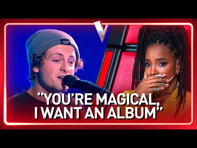 STREET PERFORMER turns into a real ARTIST in The Voice   Journey #51