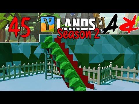 Ylands - S2Ep45 - Slide!! (Survival/Crafting/Exploration/Sandbox Game)