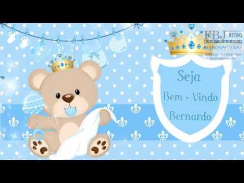 Convite Animado Chá De Bebê Ursinho Príncipe Azul Amostra 1 Youtube