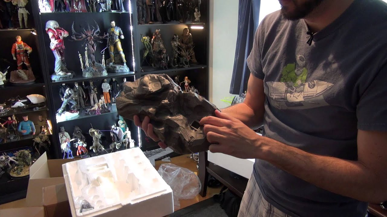 Unboxing and Review: Mass Effect's Garrus by Gaming Heads