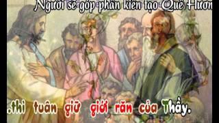 Ai Yêu Mến Thầy (CN6PS) - karaoke playback - http://songvui.org