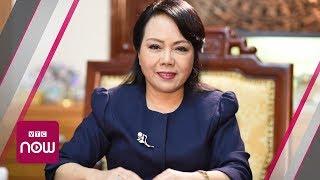 """Bộ trưởng Nguyễn Thị Kim Tiến: """"Tôi cũng bị gọi là thị phi"""""""