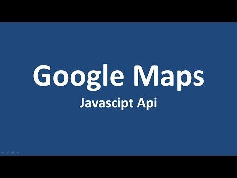 1- Google Maps Api Dersleri - Javascript