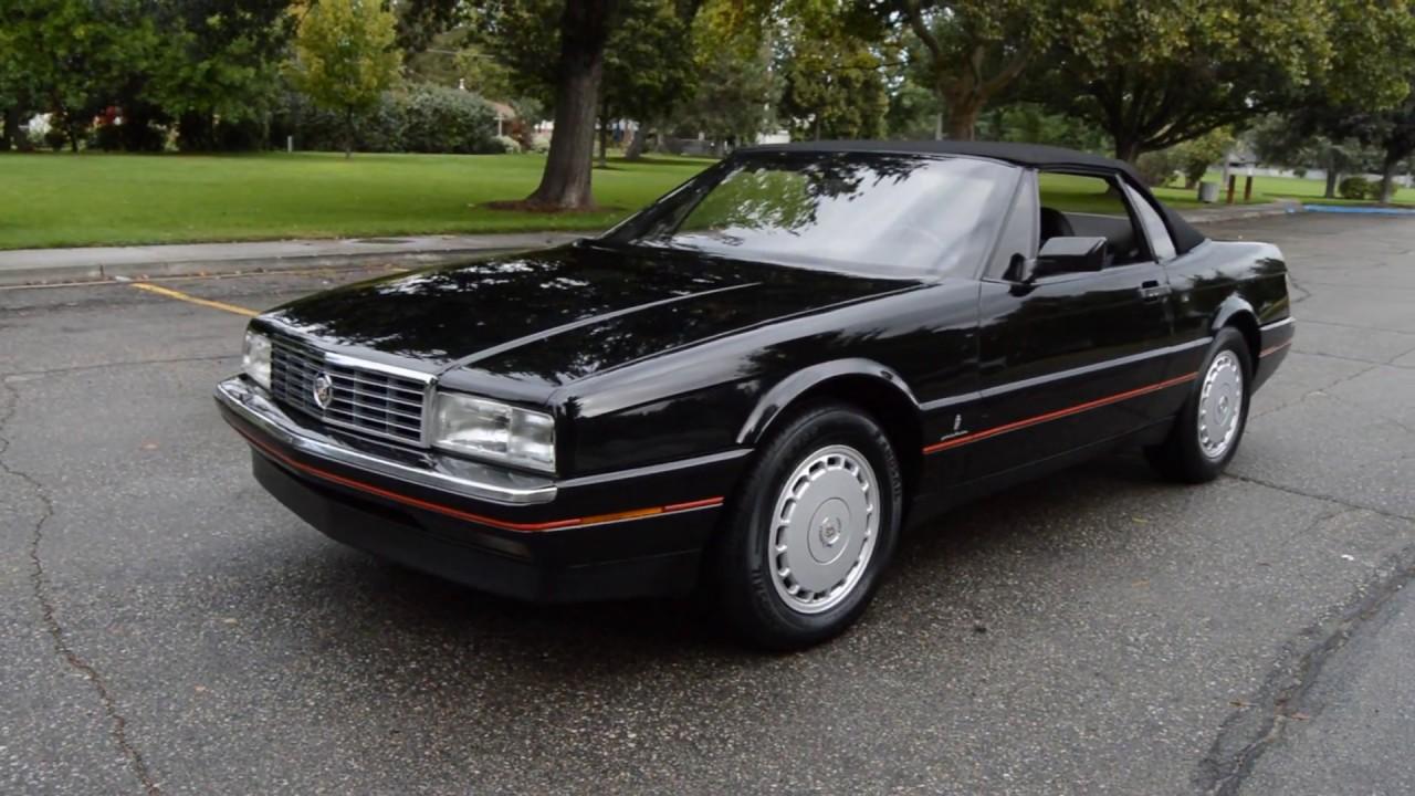 1991 cadillac allante roadster ross s valley auto sales boise idaho