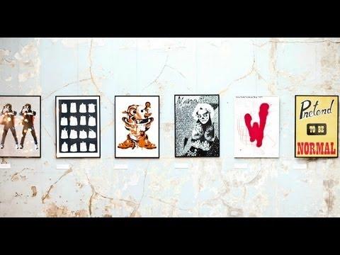 Print Club London: Summer Screen Prints - Artists' Trailer