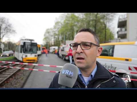 Mainz: 29 Verletzte bei Straßenbahn-Unfall