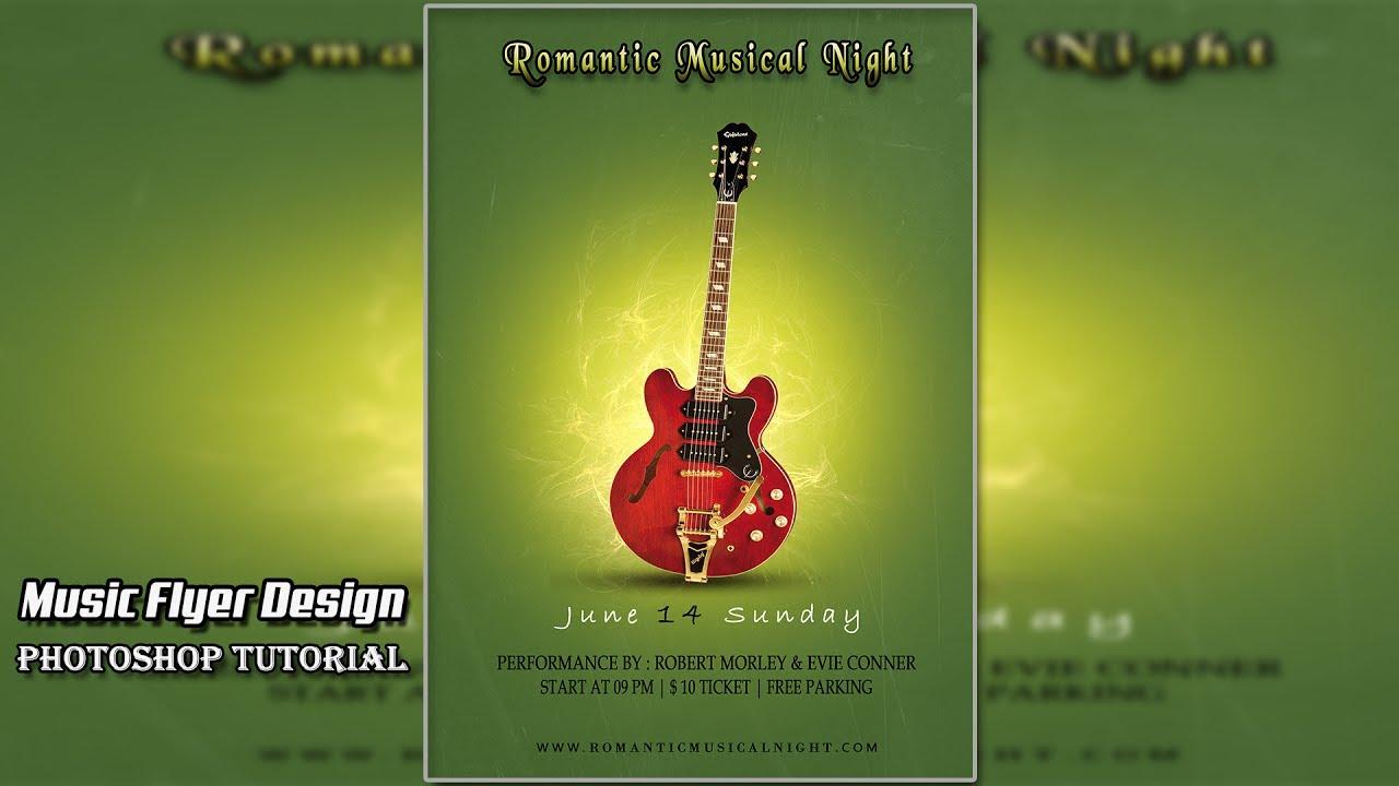 Photoshop cs6 tutorial easy music flyer design youtube photoshop cs6 tutorial easy music flyer design baditri Choice Image