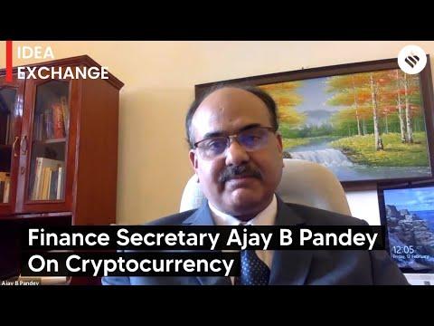 Idea Exchange: Finance Secretary Ajay Bhushan Pandey on cryptocurrency