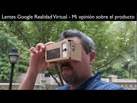 Google Cardboard VR - Realidad Virtual Que es lo que pienso