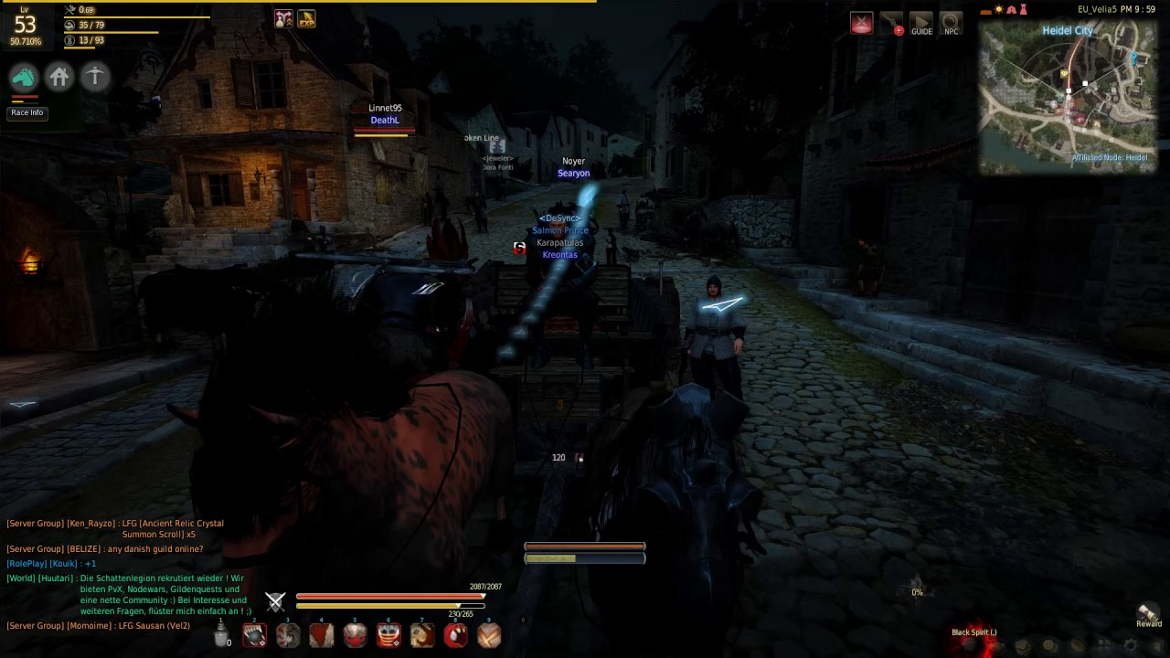 How to Exchange Take Out Food For Cooking EXP Black Desert Online