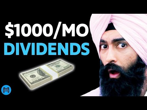 DO THIS To Make $1,000/Month From DIVIDENDS! (Passive Income)   Minority Mindset