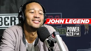 "John Legend Talks Album ""Darkness And Light"", Kim K. Status After Robbery, Fatherhood, And More!"