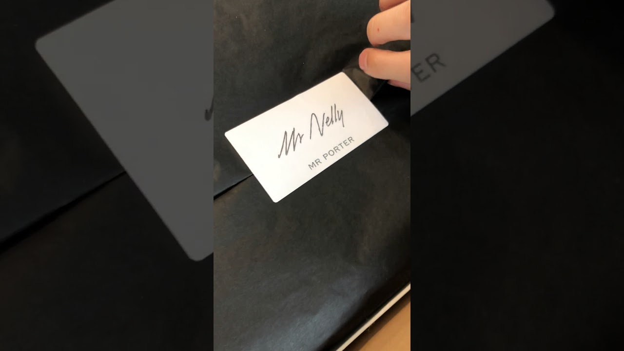 best sneakers 29015 68392 Unboxing Adidas Neighborhood Chop Shop from Mr. Porter - You