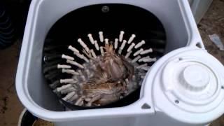 Перосъемная машинка для перепелов
