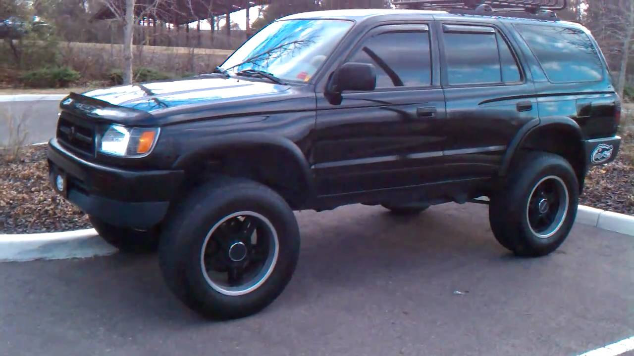 Lifted Toyota 3rd Gen 4runner With Train Horns And On