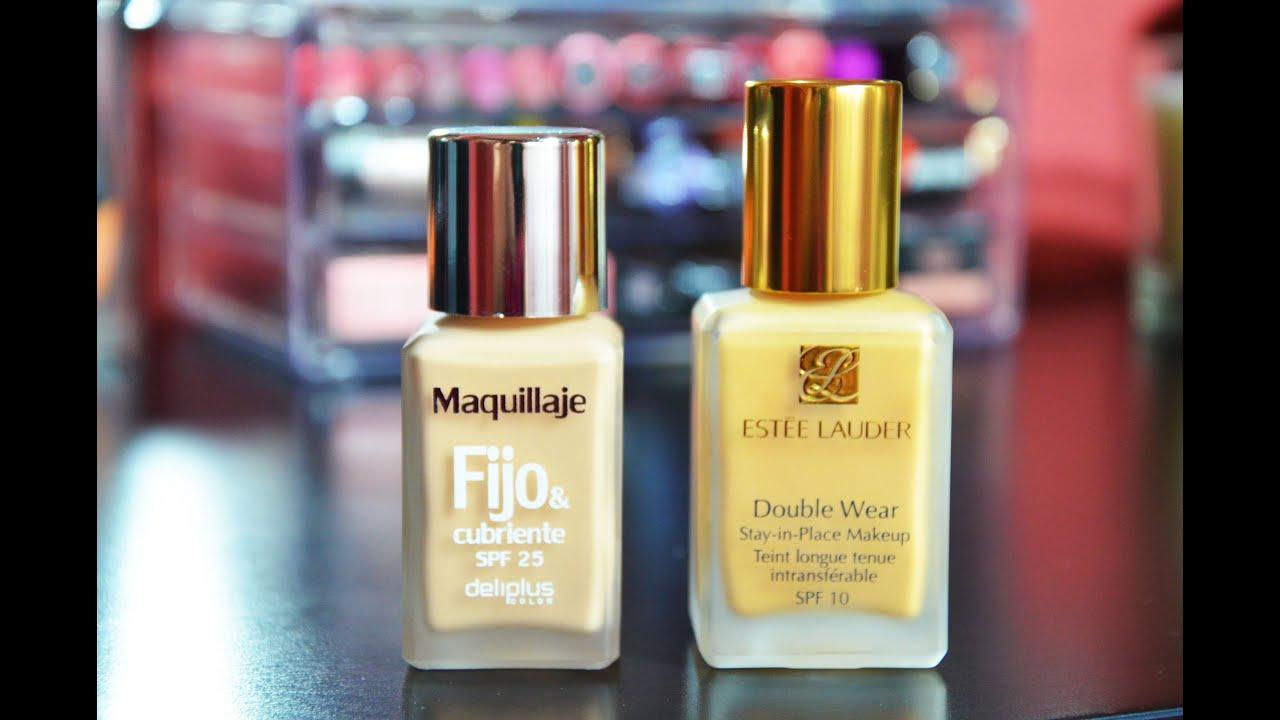 comparativa maquillajes