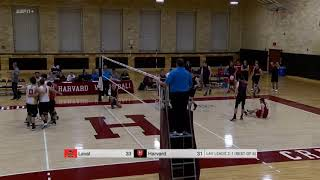VOLLEY M - Point de match Laval c. Harvard - 10-01-2019