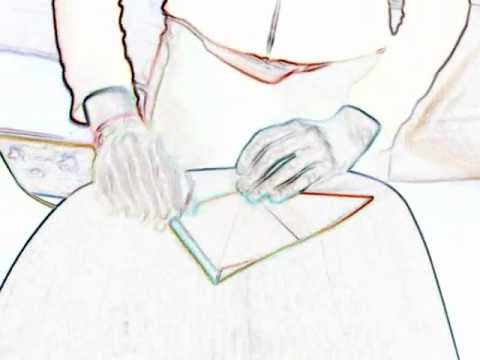 origami square box rechthoekig doosjewmv youtube