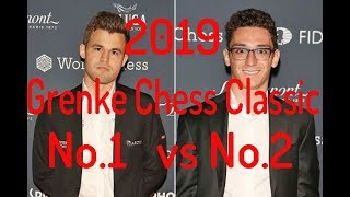 2019 Grenke: World's No.2 Up Against World's No.1. Another Epic Sicilian Fight