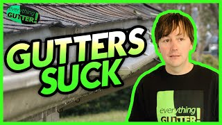 WATER FLOWING OVER GUTTERS? Why are my gutters always overflowing?