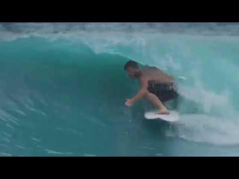 Jamie o'brien destroying  Artificial Wave Pool   BSR Surf Resort