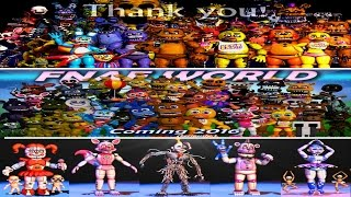 - Five Nights at Freddy s 1 2 3 4 World, Sister Location All Animatronics EXTRAS